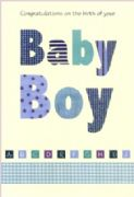 ABC New Baby Boy Greeting Card
